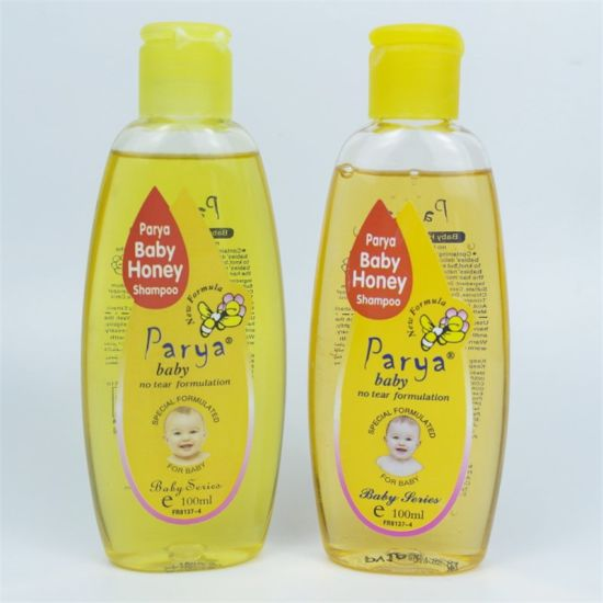 Parya Natural Healthy Safety 100ml Pure Mild 2in1 Baby Body Care Honey Shampoo