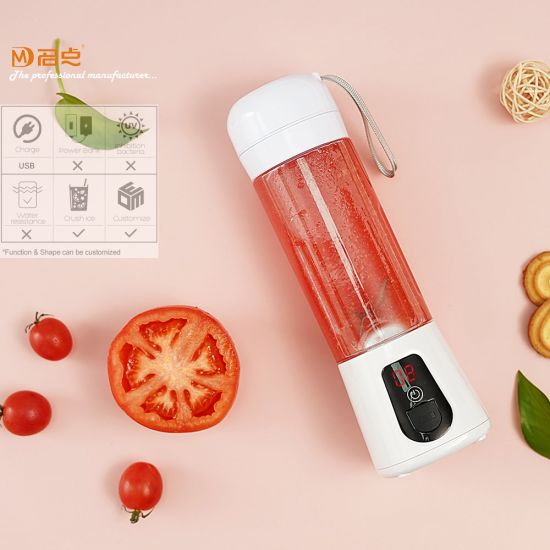 Portable USB Rechargeable Mini Blender with Water Resisitance 2 Meters