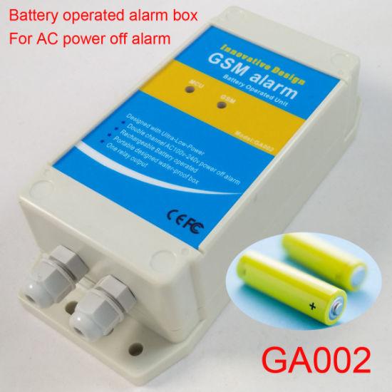 GSM Alarm Box for AC Power Supply Failure Alarm