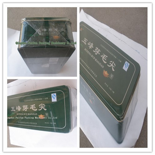Tea/Cosmetic/Biscuit/Medicine Box/Candy Box Cellophane Overwrapping Machine pictures & photos