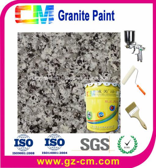Weather Resistant Uv Proof Exterior Granite Spray Paint