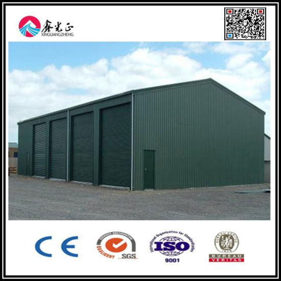 New Sandwich Wall Panel Steel Structure Garage (XGZ-0653)