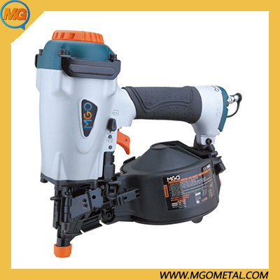 China 11ga Construction Pneumatic Roofing Coil Nailer Air Power Hand Tools Coil Roof Nail Gun Pneumatic Power Source Max Coil Nailer Air Nailer Coil Roof Nail Gun China 11ga Roof Nailer