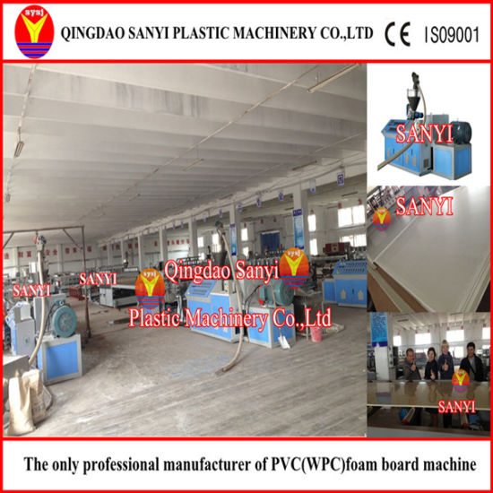 PVC Foam Board Machine/ Plastic Machine /WPC Machine pictures & photos