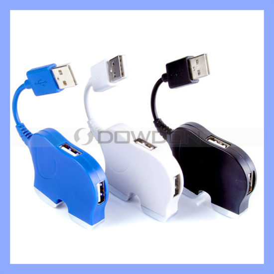 Computer Hub USB with High Speed 4 Port USB Hub PC USB Hub (HB-020)