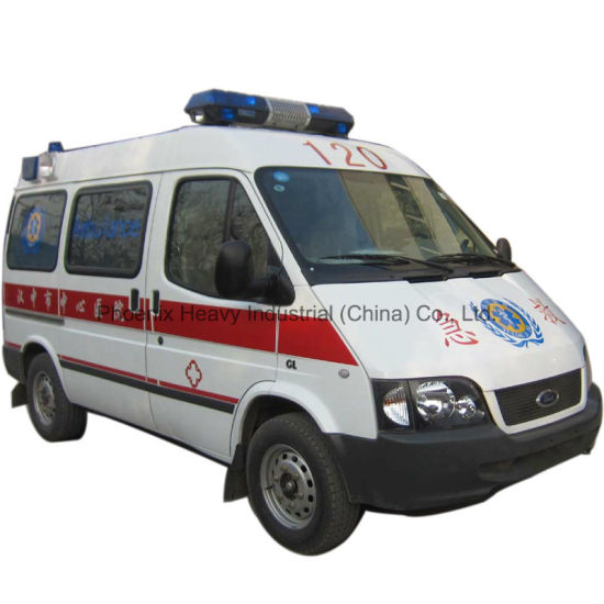 Intensive Care 3seats Ambulance with Gasoline Engine