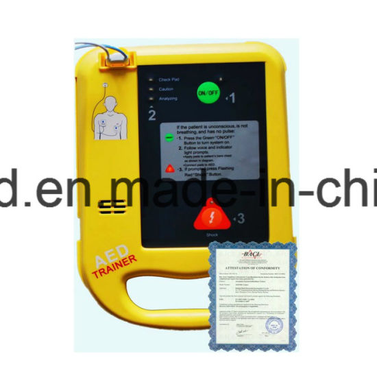 China Defibrillator CPR Aed Trainer - China Aed Trainer, Aed