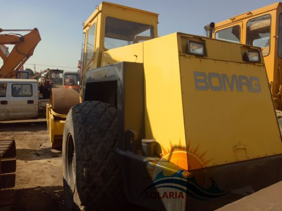 Used Original Germany Bomag Bw21 Road Roller Secondhand Compactor