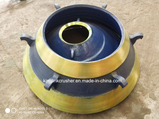 Wear-Resistant Parts for Quarry Plant Cone Crushers Concave and Mantle  Liner Plate