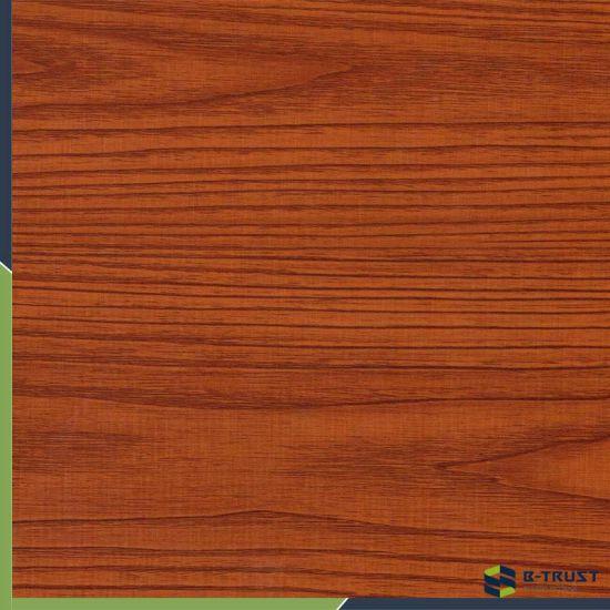 Wooden Grain Anti-UV PVC Decorative Film/Cold Laminating/Vaccum Pressing for Door/Furniture
