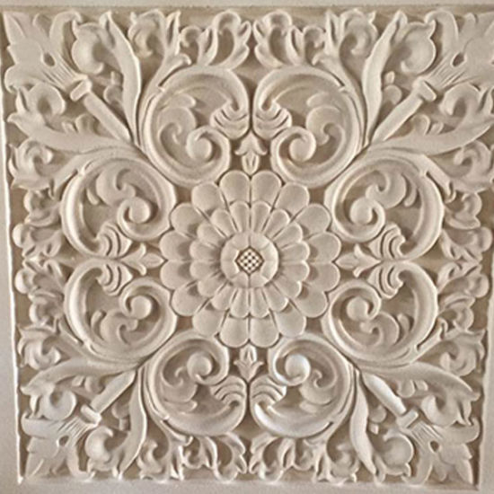 High Density EPS Foam Engraving Wall Relief Sculpture pictures & photos
