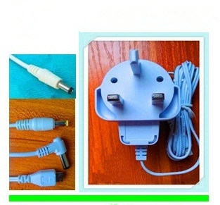 5W White BS Plug AC/DC Adapter