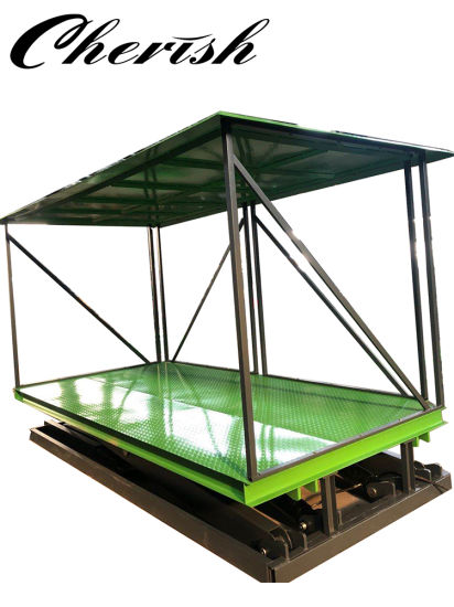 Hydraulic Customized Underground Scissor Platftom Table