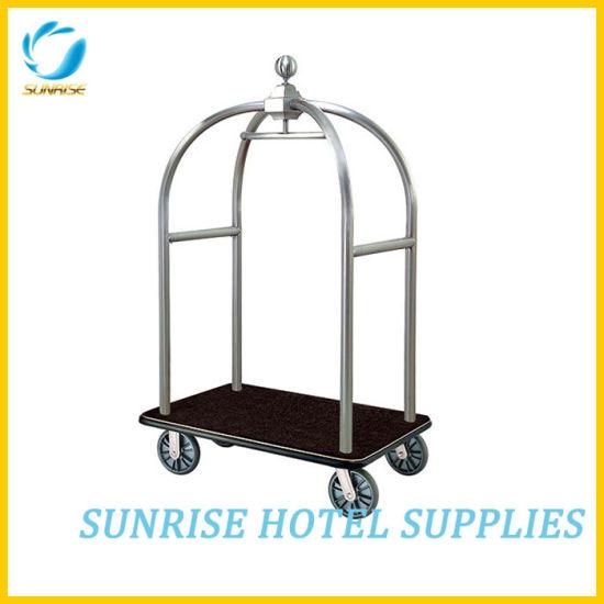 Heavy Duty Hotel Bellman Trolley Luggage Cart