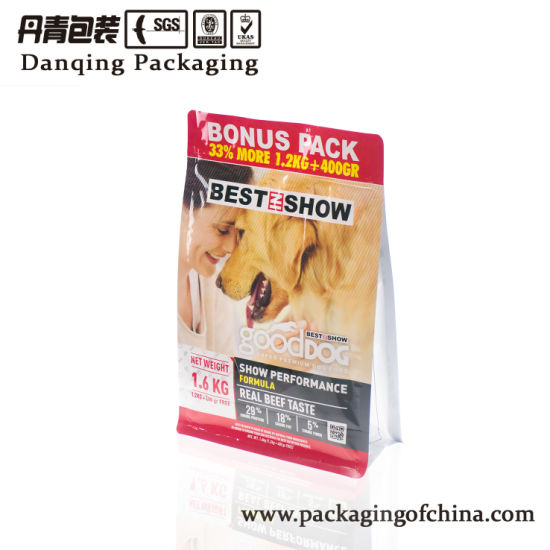 Danqing Flexible Packaging Bag for Pet Food Packaging Y0294 pictures & photos