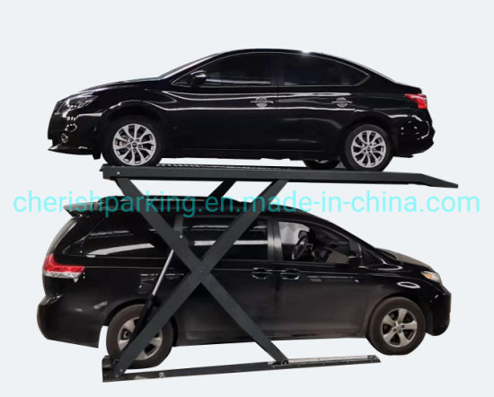2700kgs SUV Zero Post Scissor Car Parking Lift
