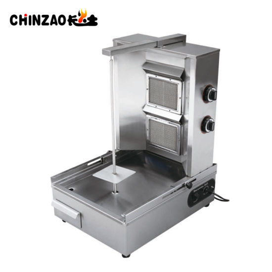 2 Burner Commercial Lpg Gas Shawarma Gas Grill For Sale Pictures P Os