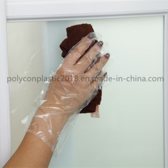 Wholesale Disposable Poly Plastic Medical Gloves