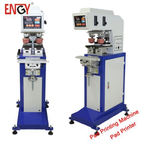 2 Color Digital Fabric Business Card Pen T Shirt Printing Machine Pad With Shuttle For Sale