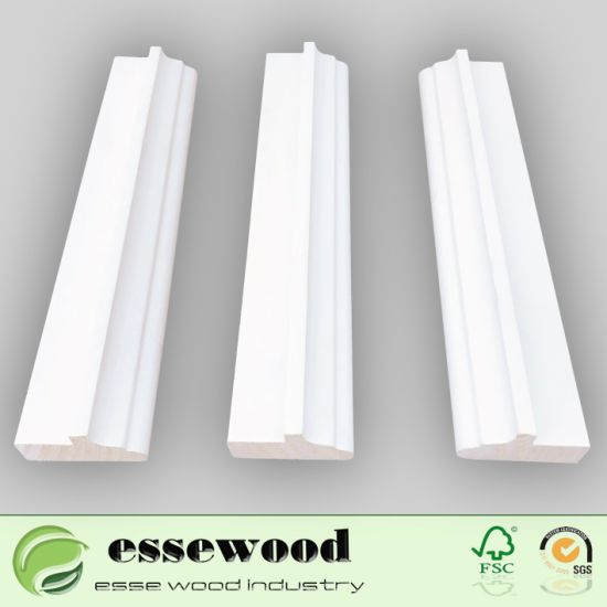 Flat Door Jamb Skirting Board Wood Crown Molding Cornice Moulding  sc 1 st  Suzhou Esse Wood Industry Co. Ltd. & China Flat Door Jamb Skirting Board Wood Crown Molding Cornice ...