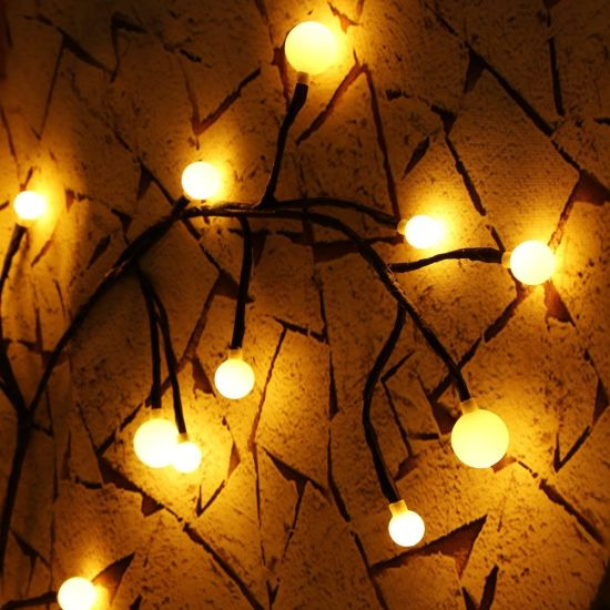 Decorative Fairy Lights, Globe String Light with 72 Bulbs IP65 Waterproof Fairy Lights for Patio, Garden, Cafe Store, Wedding, Party pictures & photos