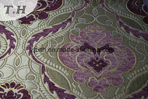 Chenille and Cotton Mixed Processing Made of High-Grade Fabric for Sofa pictures & photos