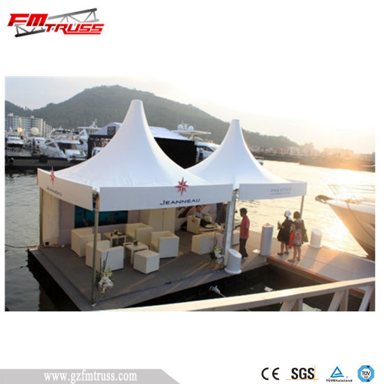 Factory Supply PVC Outdoor Pagoda Tent for Hongkong Wine Festival pictures & photos