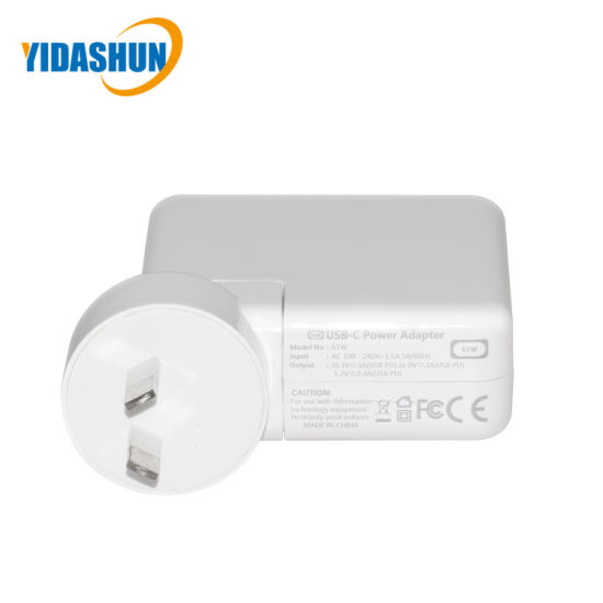 61W USB Type-C Power Supply Adapter pictures & photos