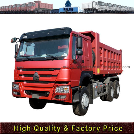 Hot Price Sinotruk HOWO 336 HP 6X4 Tipper Truck/ Dump Truck for New and Used