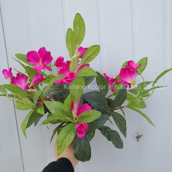 Factory Wholesale Fabric Flower Cheap Artificial Flower Arrangements for Home Decoration