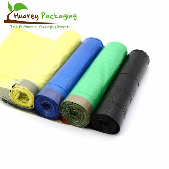 Rubbish Biodegradable Plastic Trash Garbage Bags on Roll