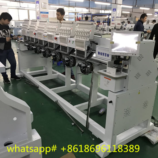 6 Head Monogram Embroidery Machine