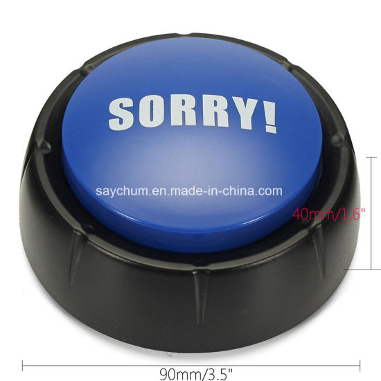 No Yes Maybe Sorry Sound Button Event Game Party Games Tools Holiday  Supplies Christmas Board Games Toy Gift