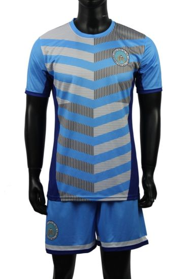 2018 Kids and Adult Wholesale Football Uniform Designs Soccer Shirts