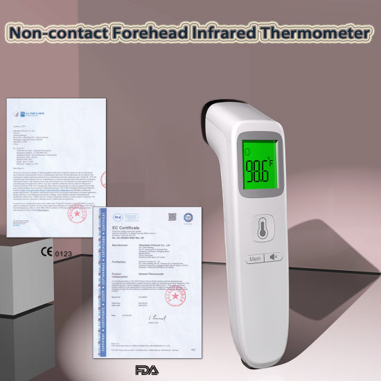 China Wholesale FDA Ce Approve Digital Medical Electronic Temperature Infrared Thermometer