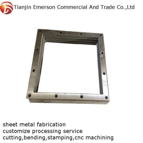 OEM ODM High Quality Custom Sheet Metal Fabrication Cutting Bending Machining Parts