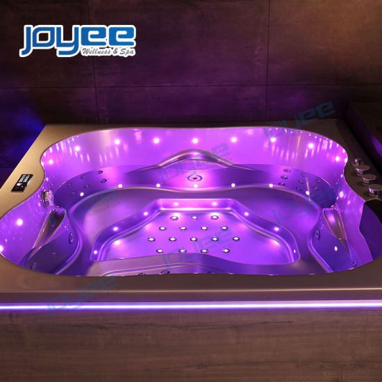China Joyee Indoor Jacuzzi Spa Bath 2 Person Hot Tub For Bathroom China Whirlpool Bathtub Indoor Jacuzzi