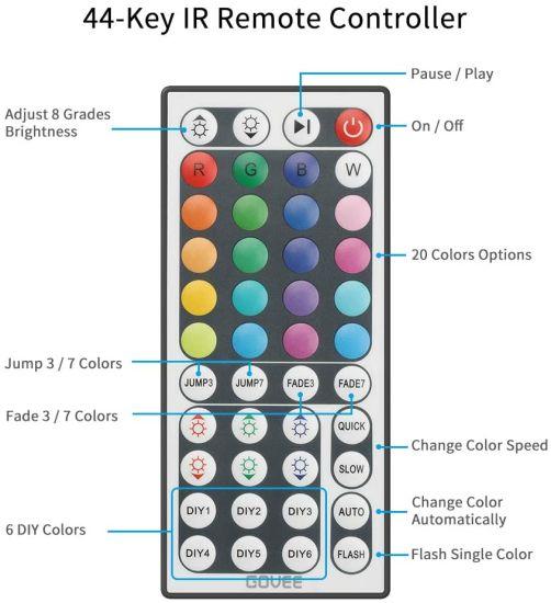 China Led Light Bar 5050 Rgb Led Light Bar 10m Led Color Changing Light Bar With Remote Control 44 Keys Flexible Led Light Bar For Kitchen Bedroom Home Bar Diy China Led