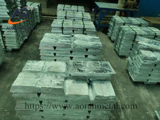 Factory Direct Supply Zinc Ingot 99.9% with Competitive Price