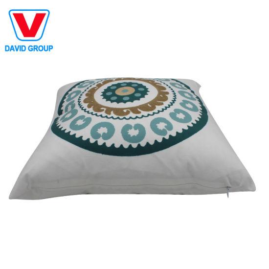 Wholesale Sofa Home Decor Pillow Cushion with Custom Digital Printed