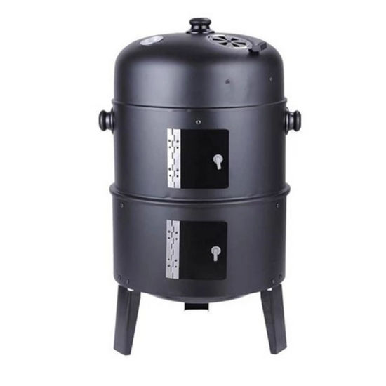 Hot Selling High Quality Smokeless 3 in 1 Barbecue Grill Easily Assembled Galvanized Meat Cooker BBQ Grill