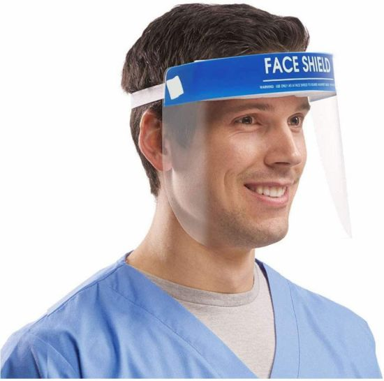 Safety Transparent Disposable Dental Clear Protective Face Shield