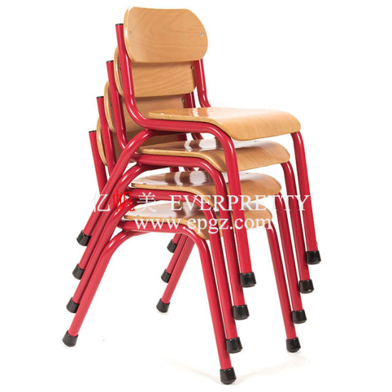 School Chairs Stackable Wooden Furniture for Student pictures & photos