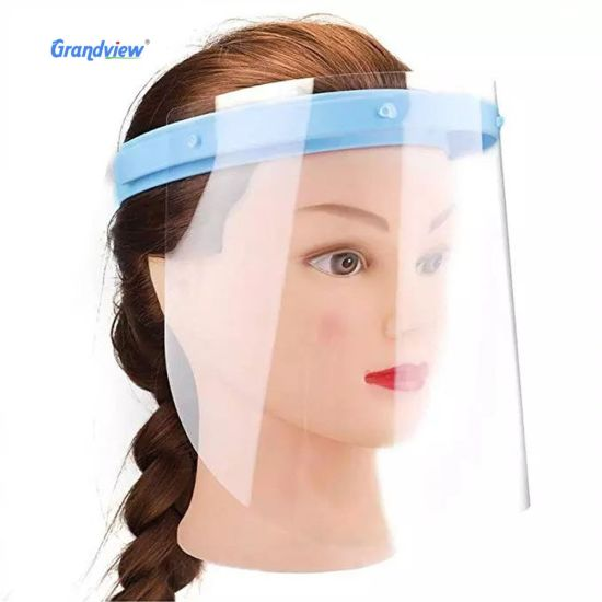 Full-Cover Anti-Droplets Professional Adult Face Shield, Fashionable Adjustable Polycarbonate Face Shield for Children
