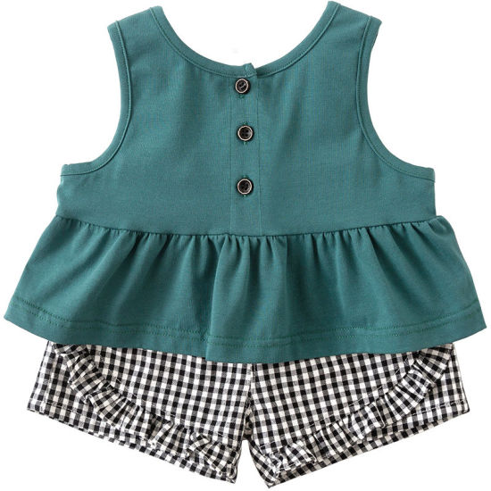 Children Suit Two-Piece Infant Sleeveless Clothing Baby Clothes