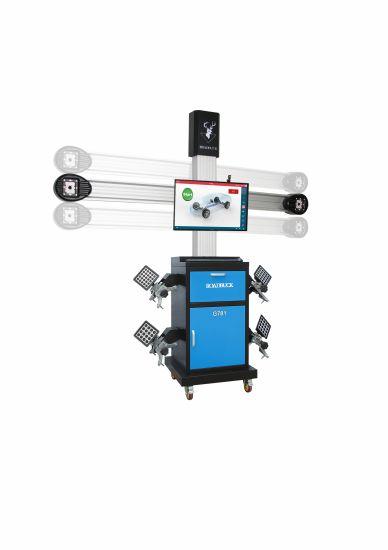 Customized Auto Shop 2HD Cameras Automatic Autodata Database 3D Wheel Aligner