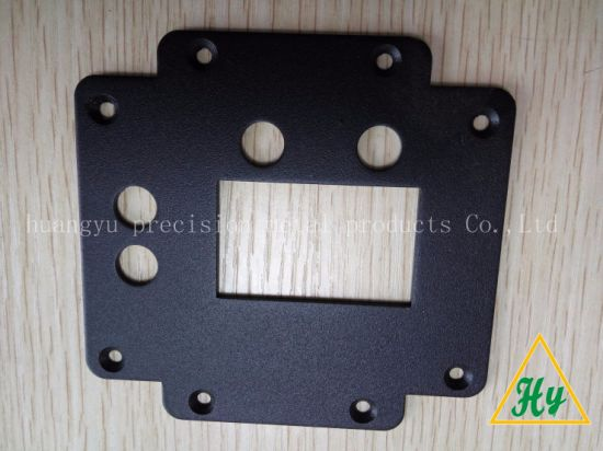 High Quality Sheet Metal Parts with Black Coating OEM Manufacturer pictures & photos