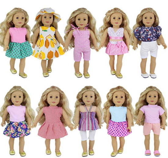 47f83c2e22 China Wholesale Hot American Girl Doll Clothes - China American Girl ...