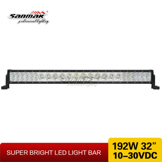 "New Exclusive Mix Rows 32"" 192W LED Light Bar pictures & photos"