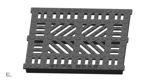 En124 D400 Jufeng Patent Product Ductile Iron Self-Connected Gratings